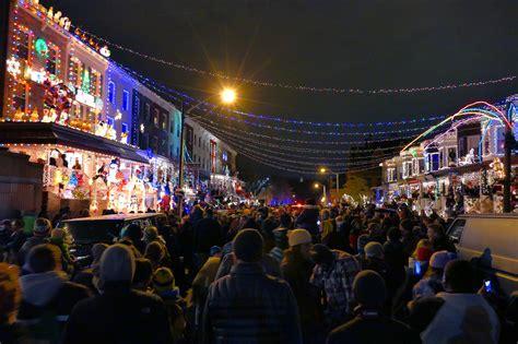 34th Street Baltimore Christmas Lights