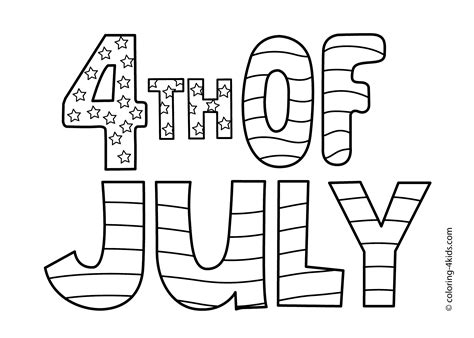 35 Best 4th Of July Coloring Pages For Your Toddlers