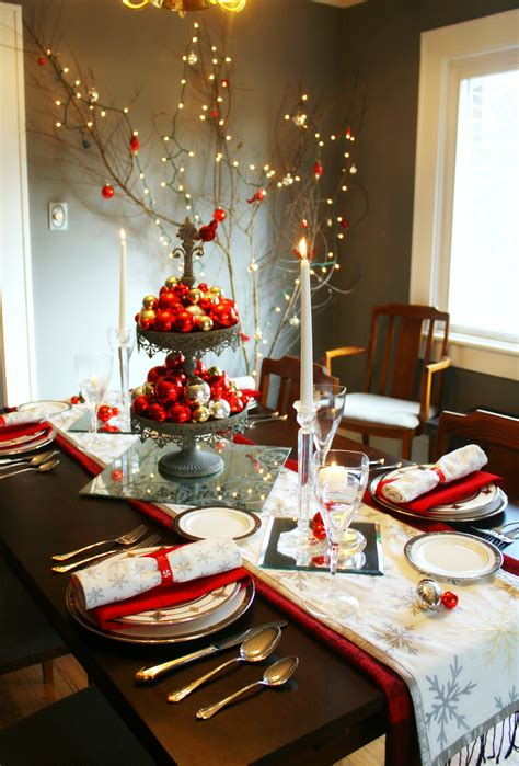 35 Christmas Table Decorations Place Settings Holiday