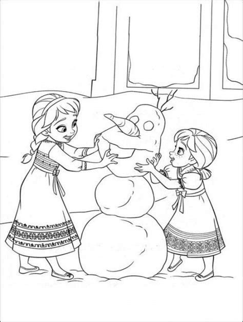 35 FREE Disney s Frozen Coloring Pages Printable 1000