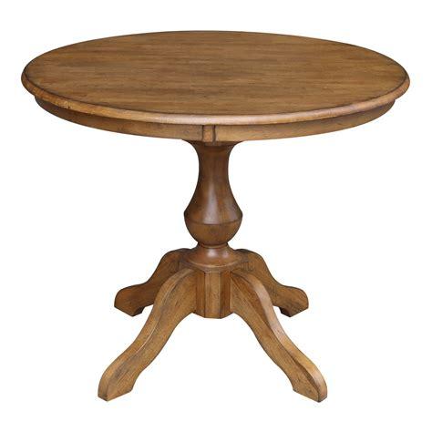 36 Round Pedestal Dining Table livingroom furnituresets