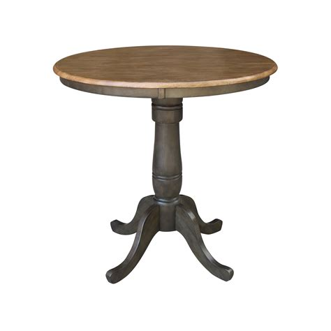 36 Round Top Pedestal Table 30 Traditional Dining