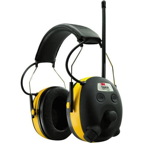 3M Tekk Aearo Digital Worktunes AM FM Hearing Protector