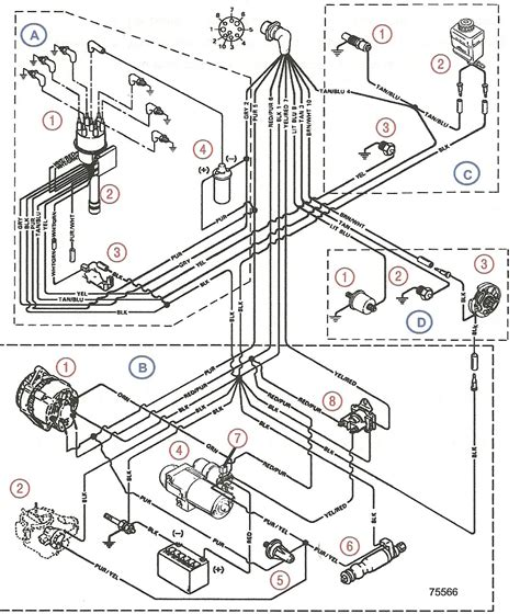 mercruiser 4 3l starter wiring diagram images mercruiser 4 3 4 3l mercruiser wiring diagram 4 electric
