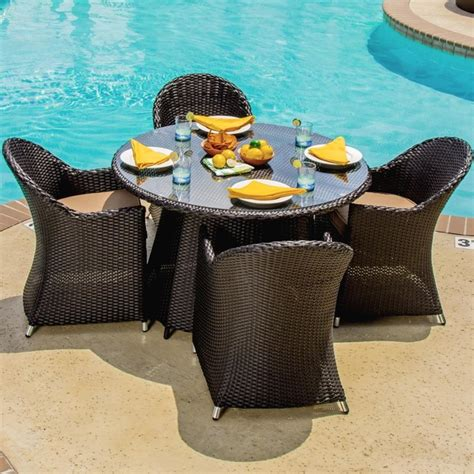 4 5 Person Patio Dining Sets Patio Dining Furniture