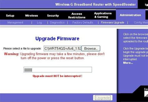 4 Easy Steps To Upgrade Linksys Wireless Router Firmware