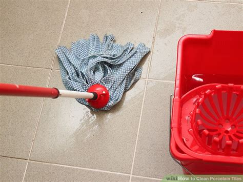 4 Ways to Clean Porcelain Tiles wikiHow