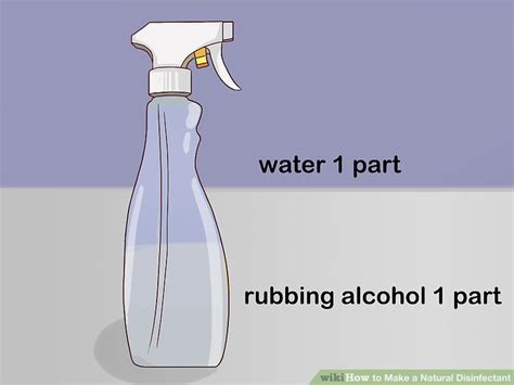 4 Ways to Make a Natural Disinfectant wikiHow