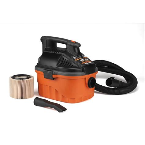 4 gal Household Wet Dry Vacuum The Home Depot