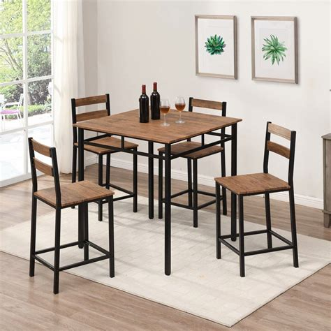 4 person counter height table dining tables and sets