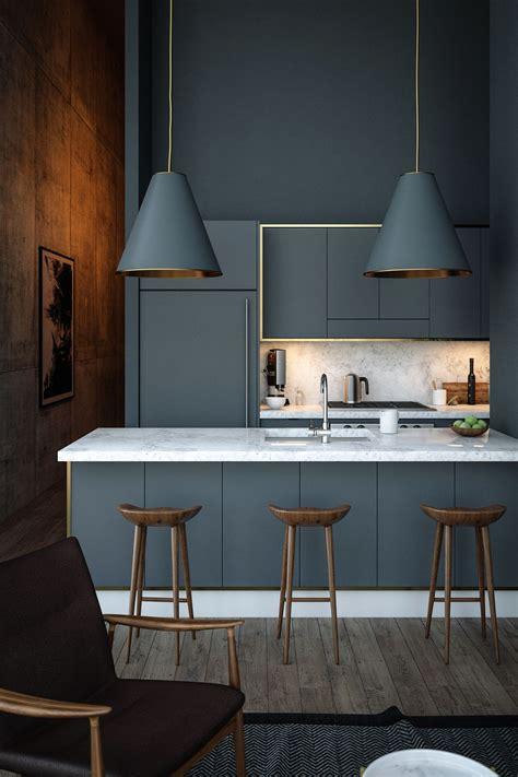 40 Gorgeous Grey Kitchens Interior Design Ideas