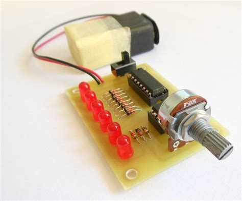 41 LED Flasher Circuit Using 555 IC 4 Steps Instructables