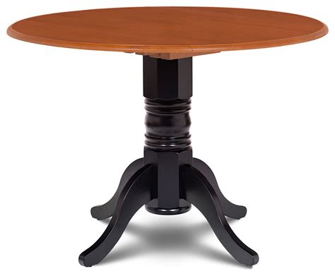 42 Burlington Round Dining Table With Two 9 Drop Leaves