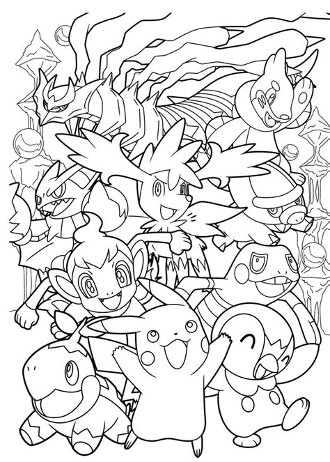 43 Pokemon Coloring Pages Print Pokemon Pictures to