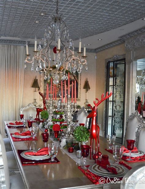 45 Best Christmas Table Settings Decorations and