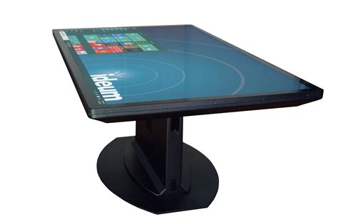 4k UHD Multitouch Tables and Walls Ideum