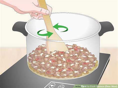 5 Easy Ways to Cook Venison Deer Meat wikiHow