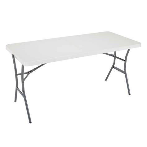 5 Fold in Half Table Lifetime 4534 Folding Tables