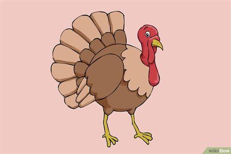 5 Ways to Draw a Turkey Step by Step wikiHow
