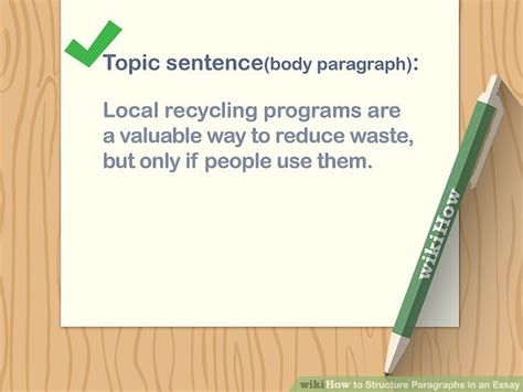 5 Ways to Structure Paragraphs in an Essay wikiHow