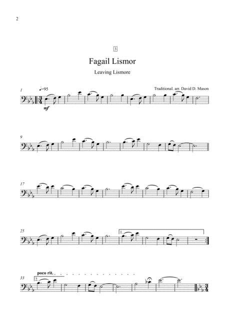 5 Scottish Gaelic Airs For Flute And Piano  music sheet