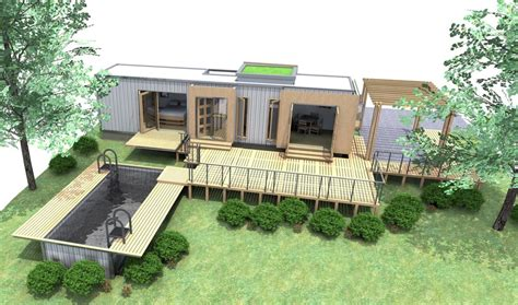 5 underground shipping container home designs Container