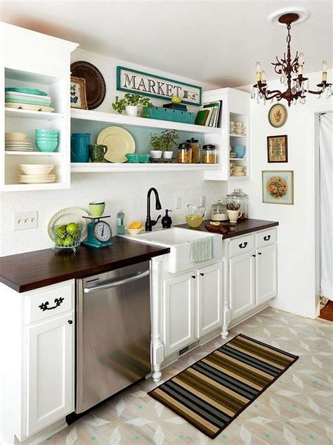 50 Best Small Kitchen Ideas and Designs for 2017 Homebnc