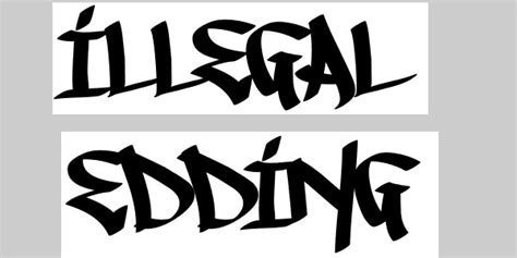 50 Killer Graffiti Fonts SloDive