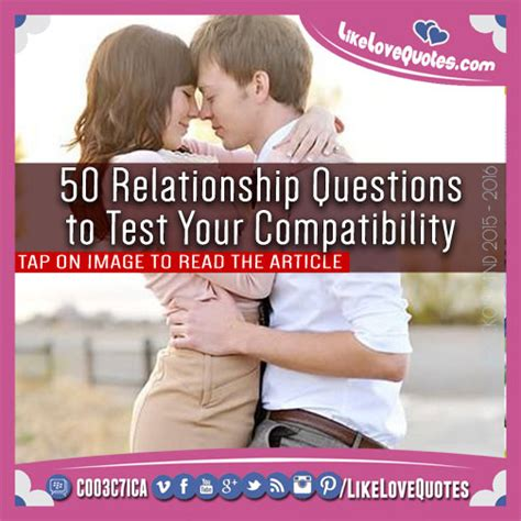 50 Relationship Questions to Test Your Compatibility