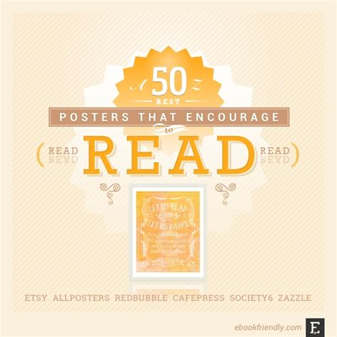 50 awesome posters that encourage to read Ebook Friendly