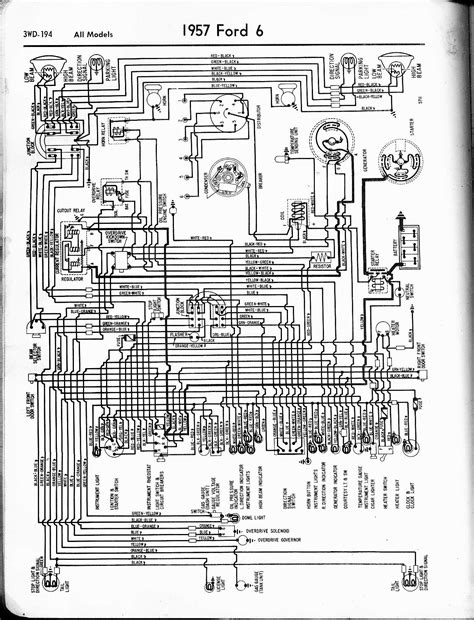 1963 impala headlight switch wiring diagram images 57 65 ford wiring diagrams the old car manual project