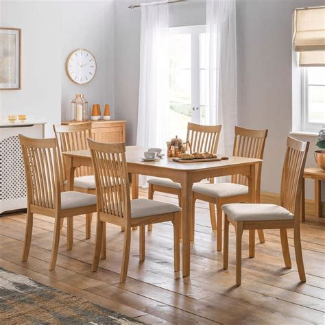 6 Seater Oak Dining Table Sets Great Furniture Trading Co