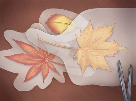 6 Ways to Preserve Fall Leaves wikiHow