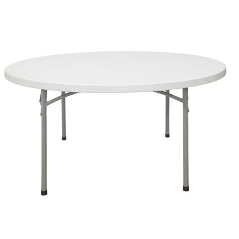 6 round plastic folding tables Staples