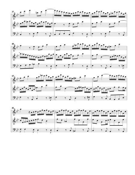 6 Trio Sonatas Bwv 525 530 Arrangement For 3 Recorders  music sheet