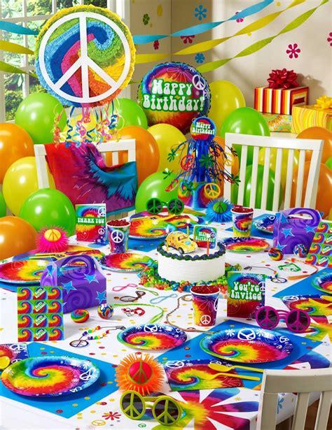 60s Retro Party Ideas Tie Dye Theme Party Hippie Theme