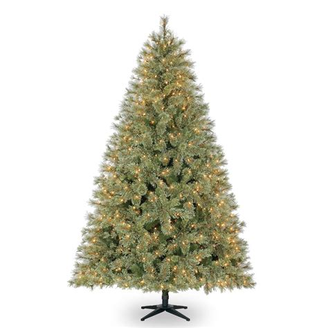 7 5 Ft Pre Lit Jasper Cashmere Artificial Christmas Tree