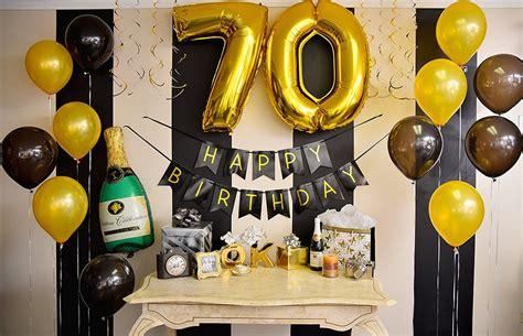 70th Birthday Party Ideas 70th Birthday Ideas For A Non