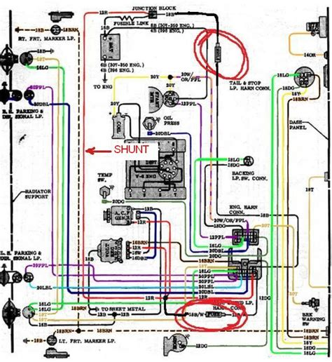 chevy alternator wiring diagram images chevy nova wiring 72 chevy truck alternator wiring 72 get image about