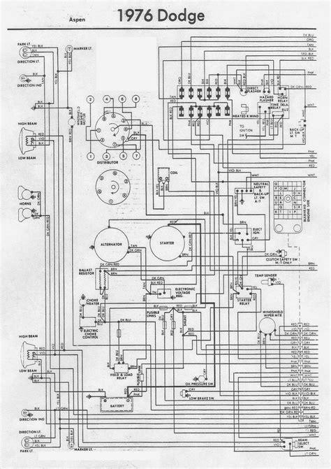 free download ebooks 76 Dodge Wiring Diagram