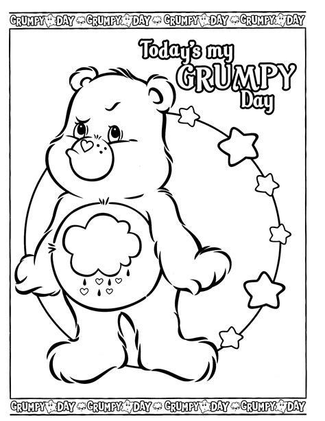 77 best Coloring Care Bears images on Pinterest Care