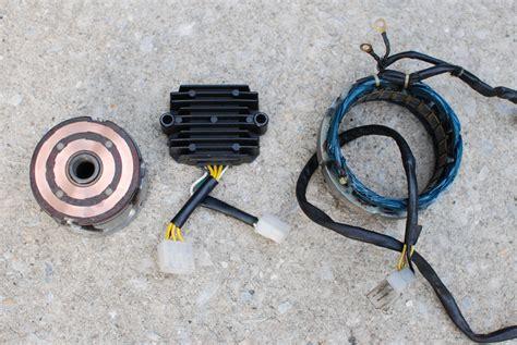 79 82 Honda cb650 charging problems Chin on the Tank