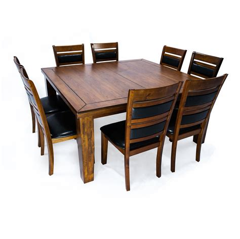 8 Seat Square Kitchen Dining Tables You ll Love Wayfair