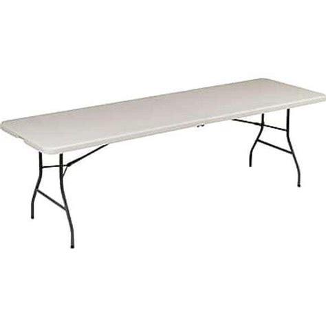 8 ft folding table Staples