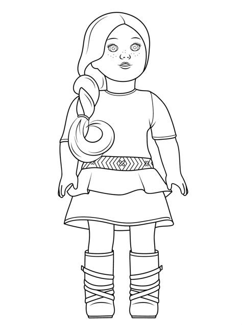 86 best American Girl crafts and coloring pages images on