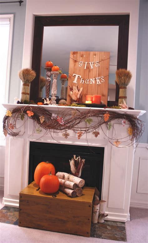 87 Exciting Fall Mantel D cor Ideas Shelterness