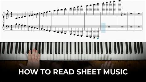 88 Key Piano Chart  music sheet