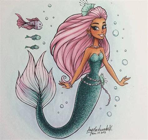 9 Mermaid Drawings Free Premium Templates