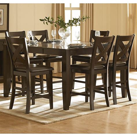 9 Piece Counter Height Dining Room Set Sears