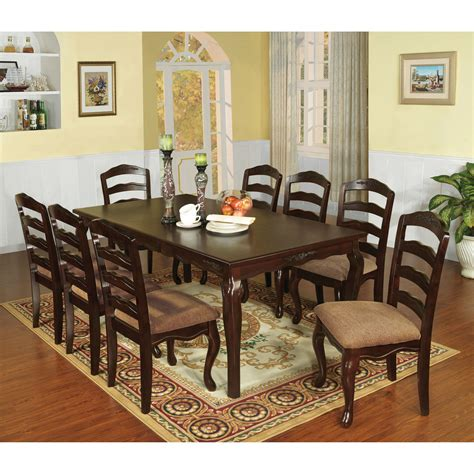 9 Piece Dining Settings Online Furniture Bedding Store